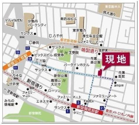 ガーラプレイス新宿御苑 / 9階 部屋画像2