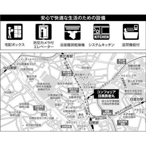 コンフォリア目黒長者丸 / 2階 部屋画像3