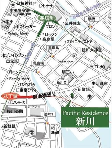 レジディア新川Ⅱ(旧:パシフィックレジデンス新川) / 2階 部屋画像3