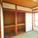 和室ならではの、収納の大きさ