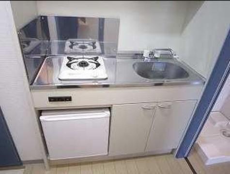 キッチンもきれいです