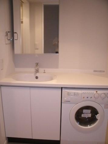 洗面台・ドラム式洗濯機
