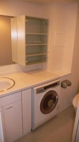 嬉しい! ドラム式洗濯乾燥機 付き
