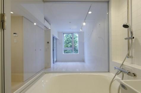 浴室からの眺めです。