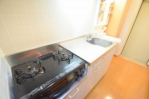 広めのキッチンでお料理しやすいです