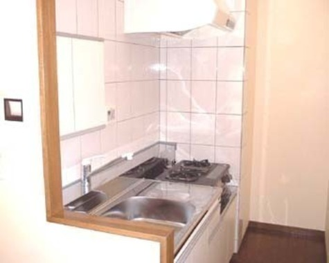キッチン(ガスコンロ2口設置可)