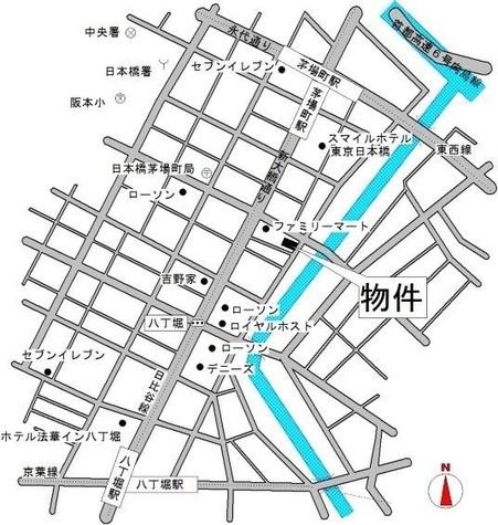 (仮称)日本橋茅場町3丁目計画 / 5階 部屋画像4