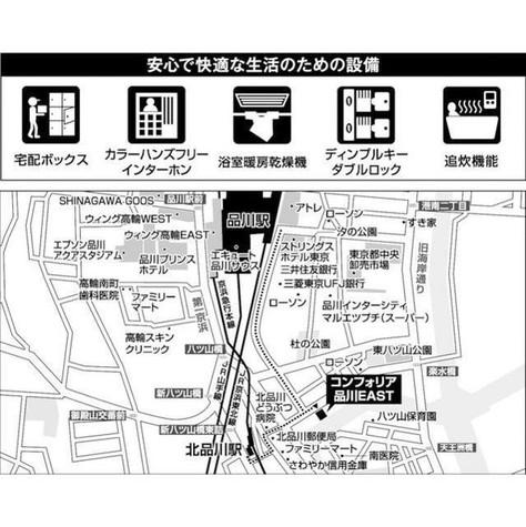 コンフォリア品川EAST / 12階 部屋画像4