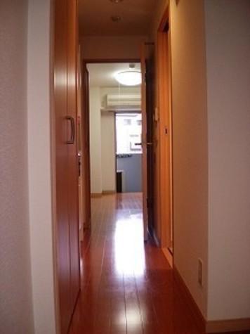 玄関から見たながめです。