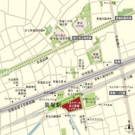 メルクマール京王笹塚レジデンス / 18階 部屋画像5
