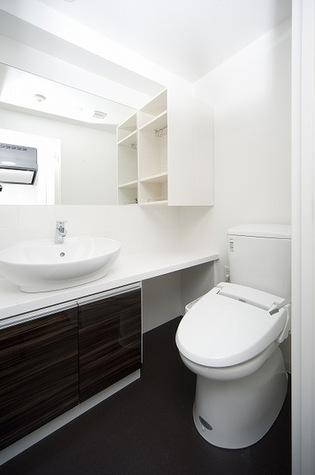 独立洗面台!ウォシュレットトイレ!