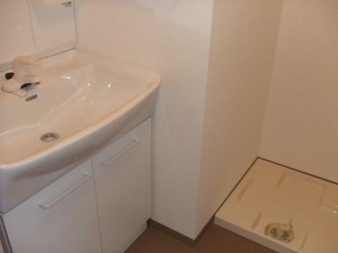 独立洗面台&洗濯機置き場