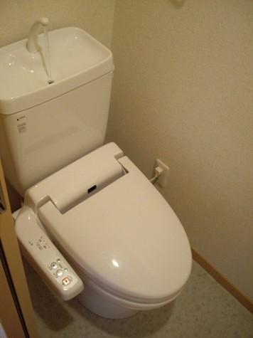 ウォシュレットつきトイレ!