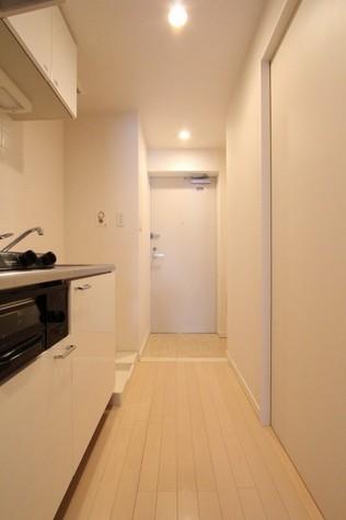 参考写真:廊下・玄関(9階・反転タイプ)