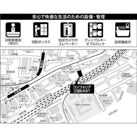 コンフォリア三田EAST / 7階 部屋画像6