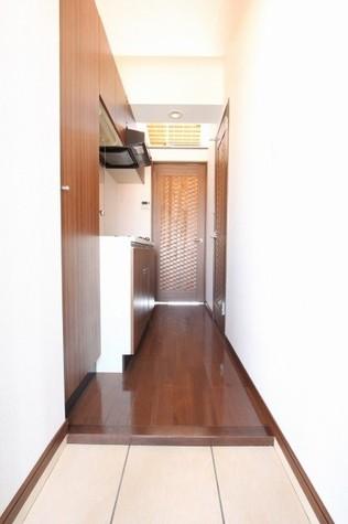参考写真:玄関ー廊下(4階・別タイプ)