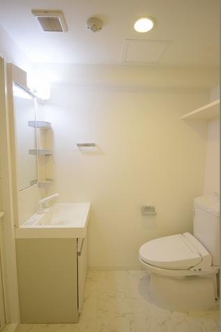 機能的な洗面所