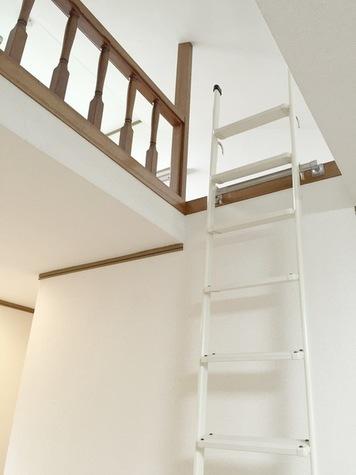 ロフトの梯子