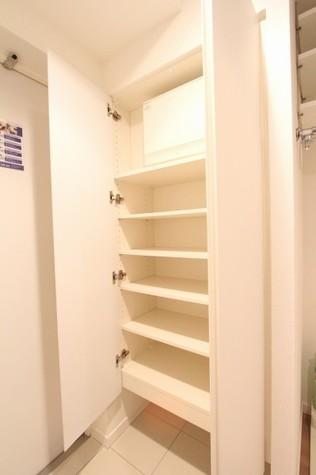 参考写真:玄関収納(12階・別タイプ)