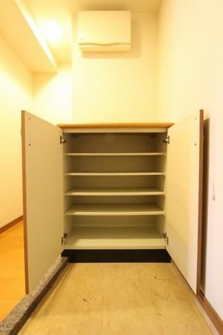 参考写真:下足入れ(3階・別タイプ)