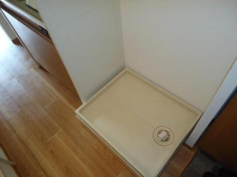 洗濯機置き場(防水パン)