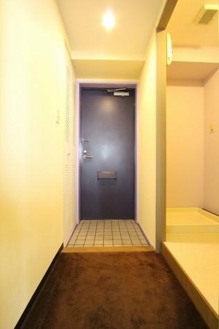 参考写真:廊下・玄関(7階・反転タイプ)