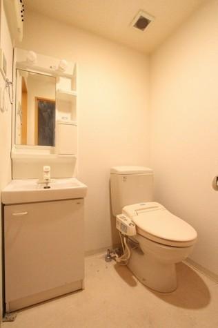 参考写真:サニタリールーム(2階・類似タイプ)