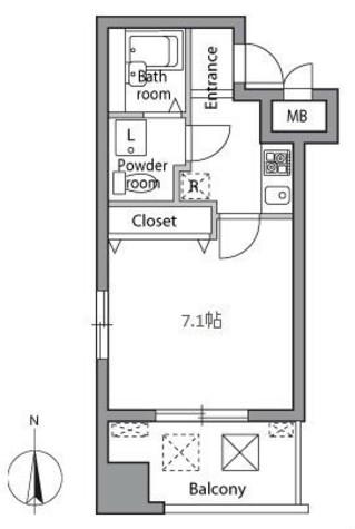 レジディア神楽坂 / 4階 部屋画像9