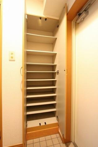 参考写真:下足入れ(2階・別タイプ)