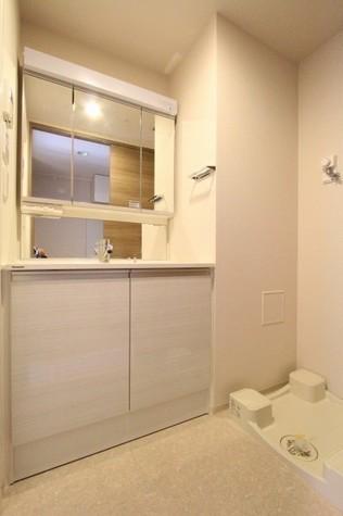参考写真:洗面・洗濯機置場(2階・別タイプ)