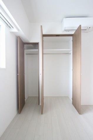 参考写真:5帖洋室のクローゼット(7階・別タイプ)
