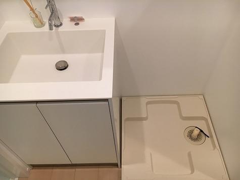 独立洗面台・洗濯機置き場!