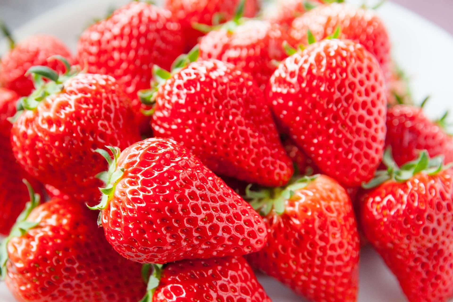 strawberries are a delicious seasonal fruit in japan