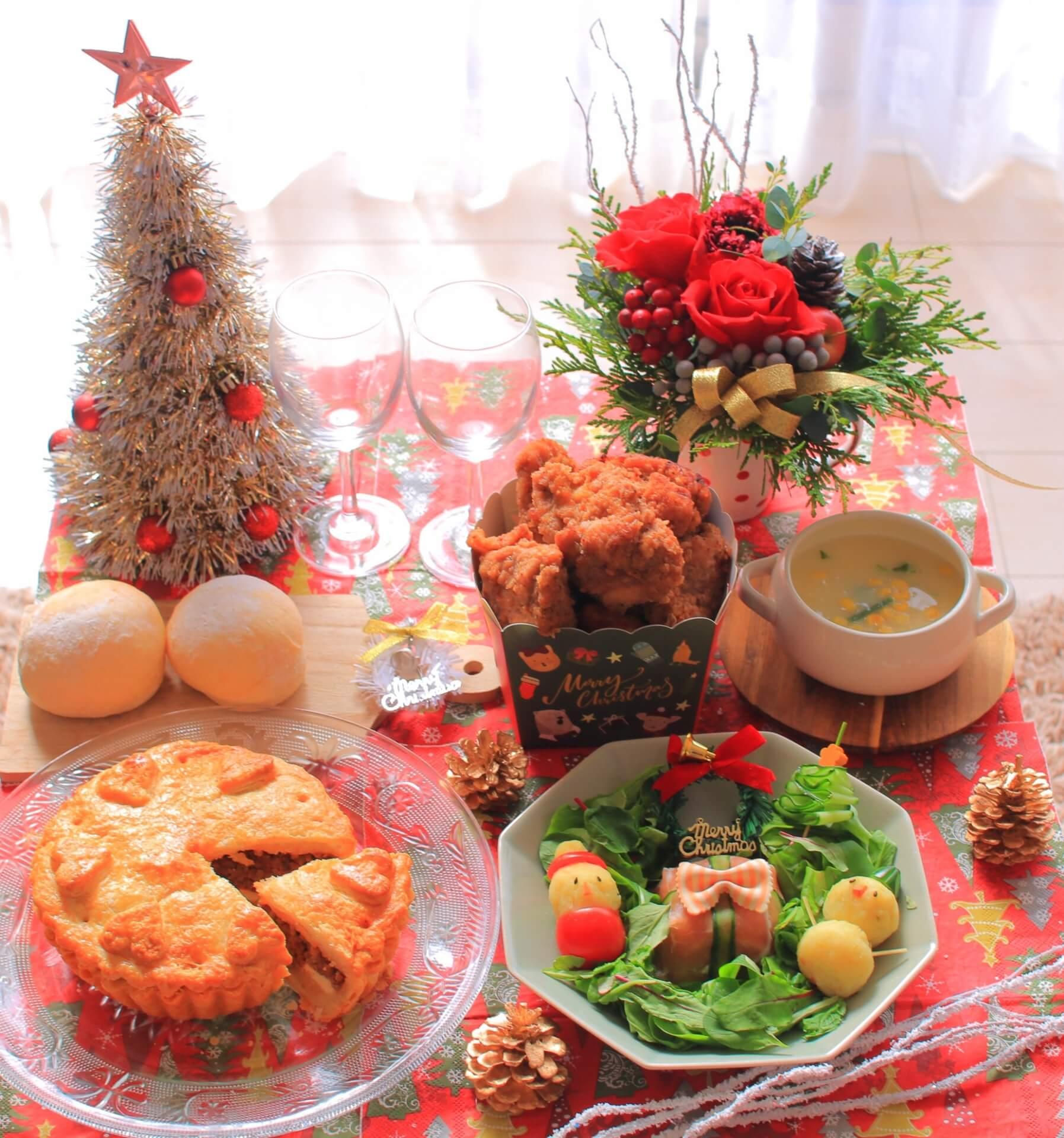 クリスマスのメニューを紹介
