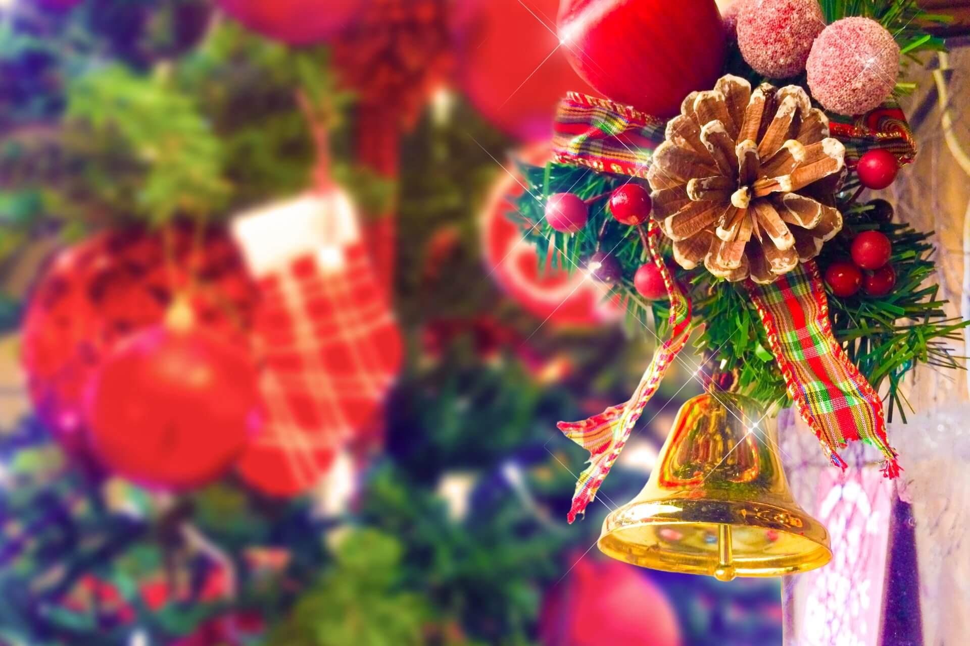 クリスマスの飾り付け