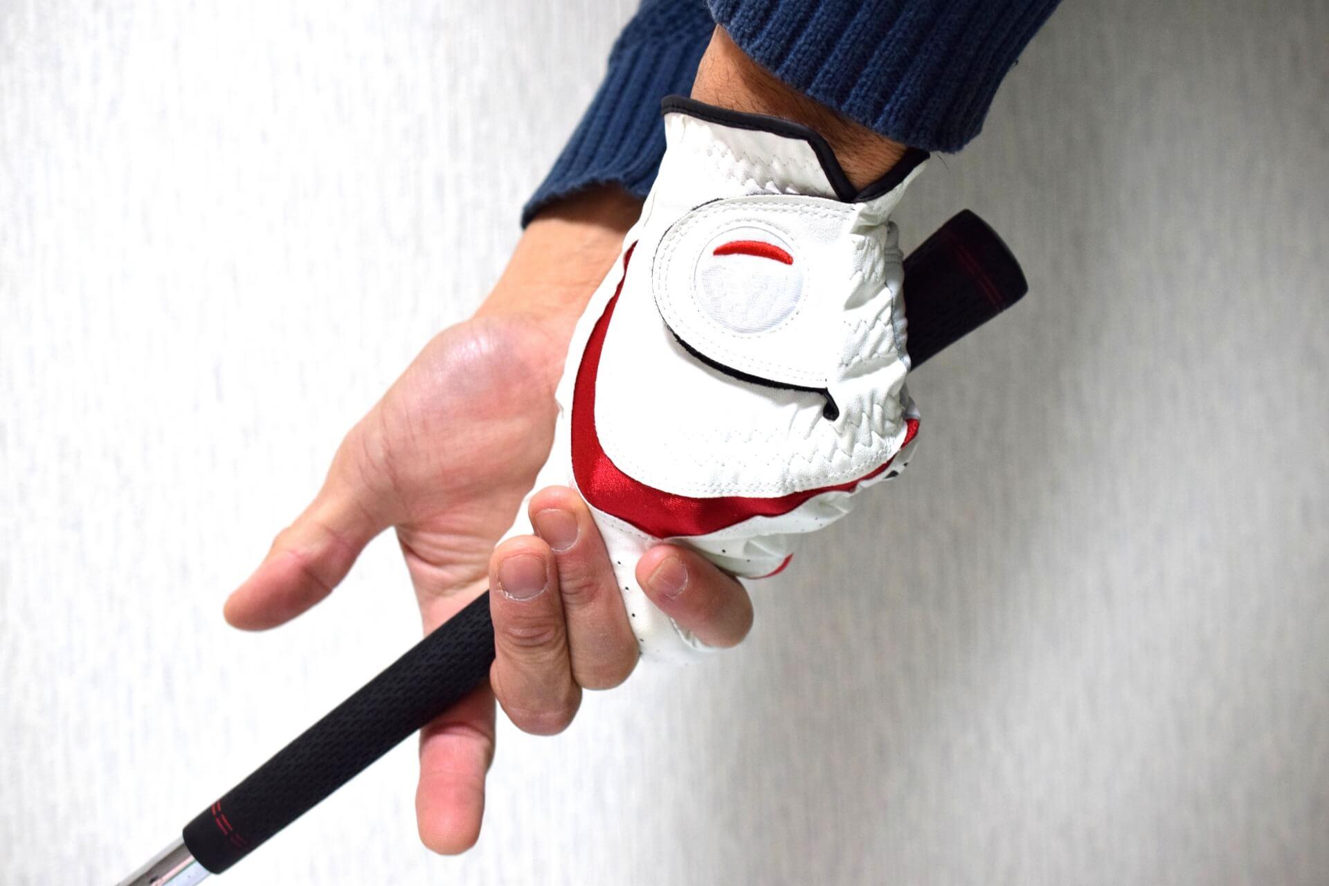 ゴルフの打ち方、握り方