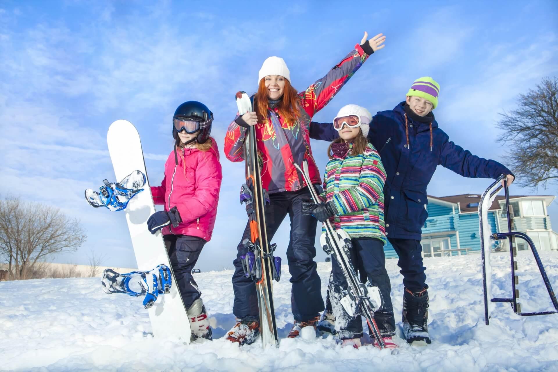 スキーウェアをレンタルしましょう