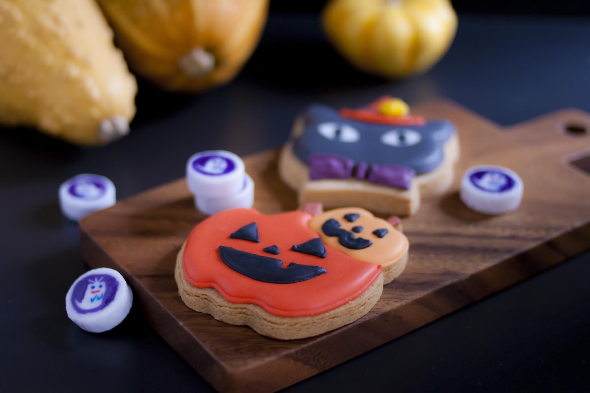 ハロウィンのお菓子を可愛くラッピング