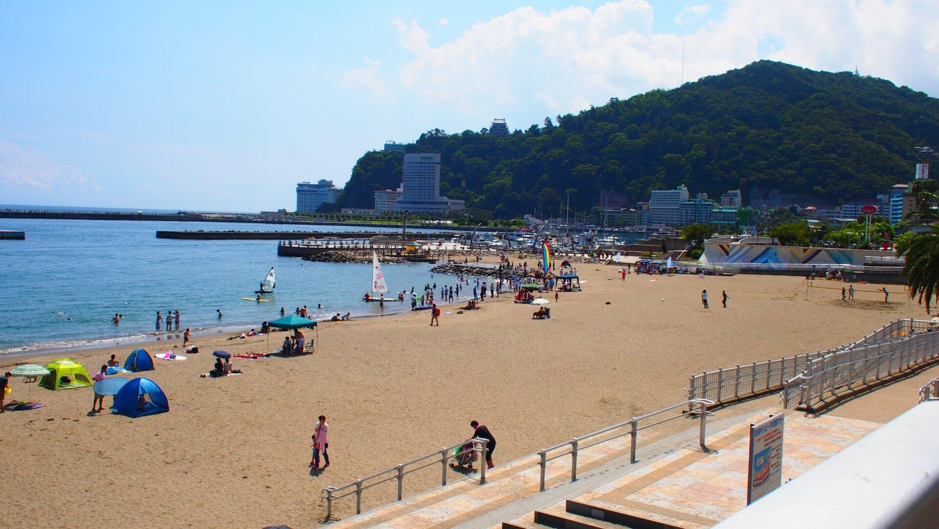 関東で人気の海水浴場はどこなの?