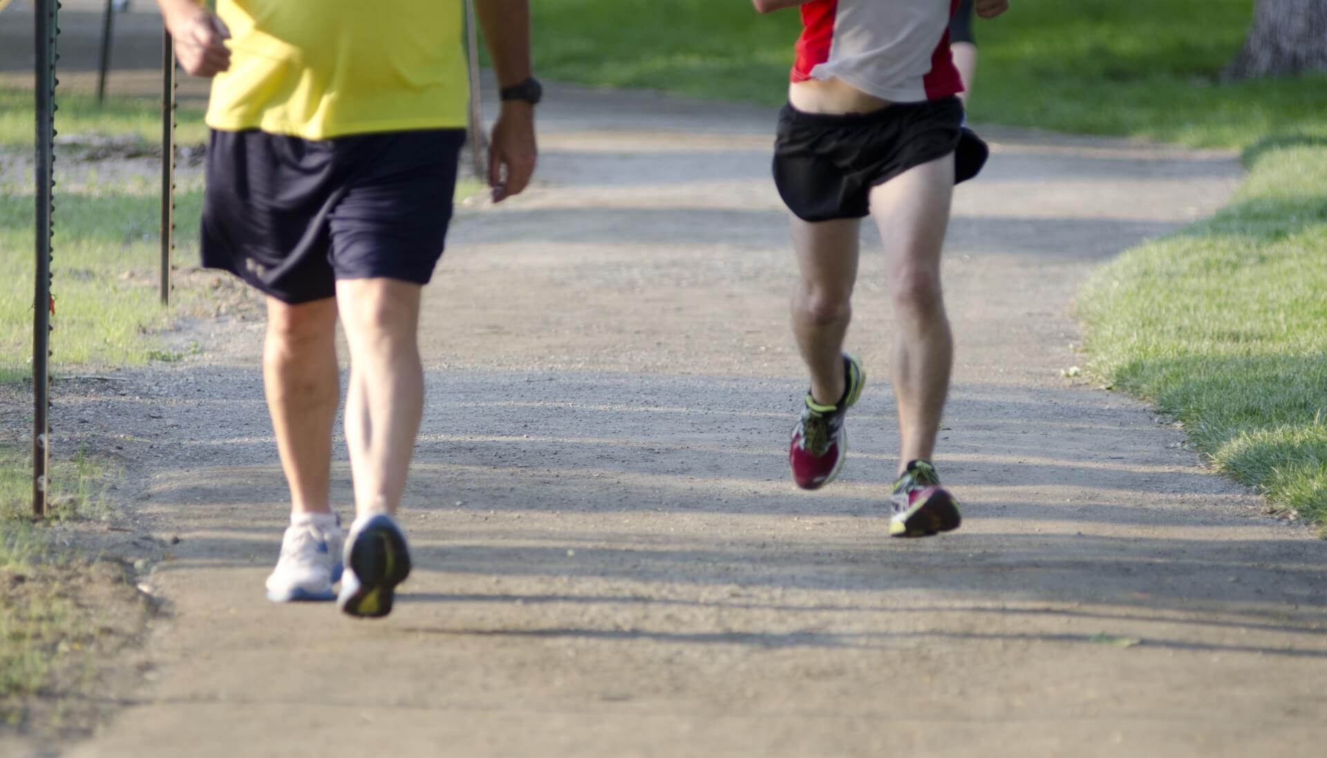 マラソンを楽に走るコツは2つ!