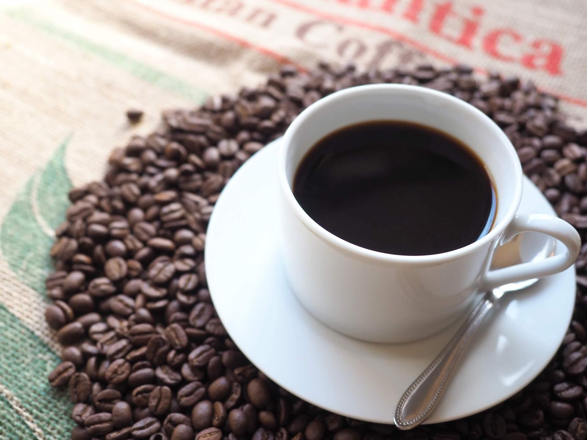 アウトドアでコーヒーを