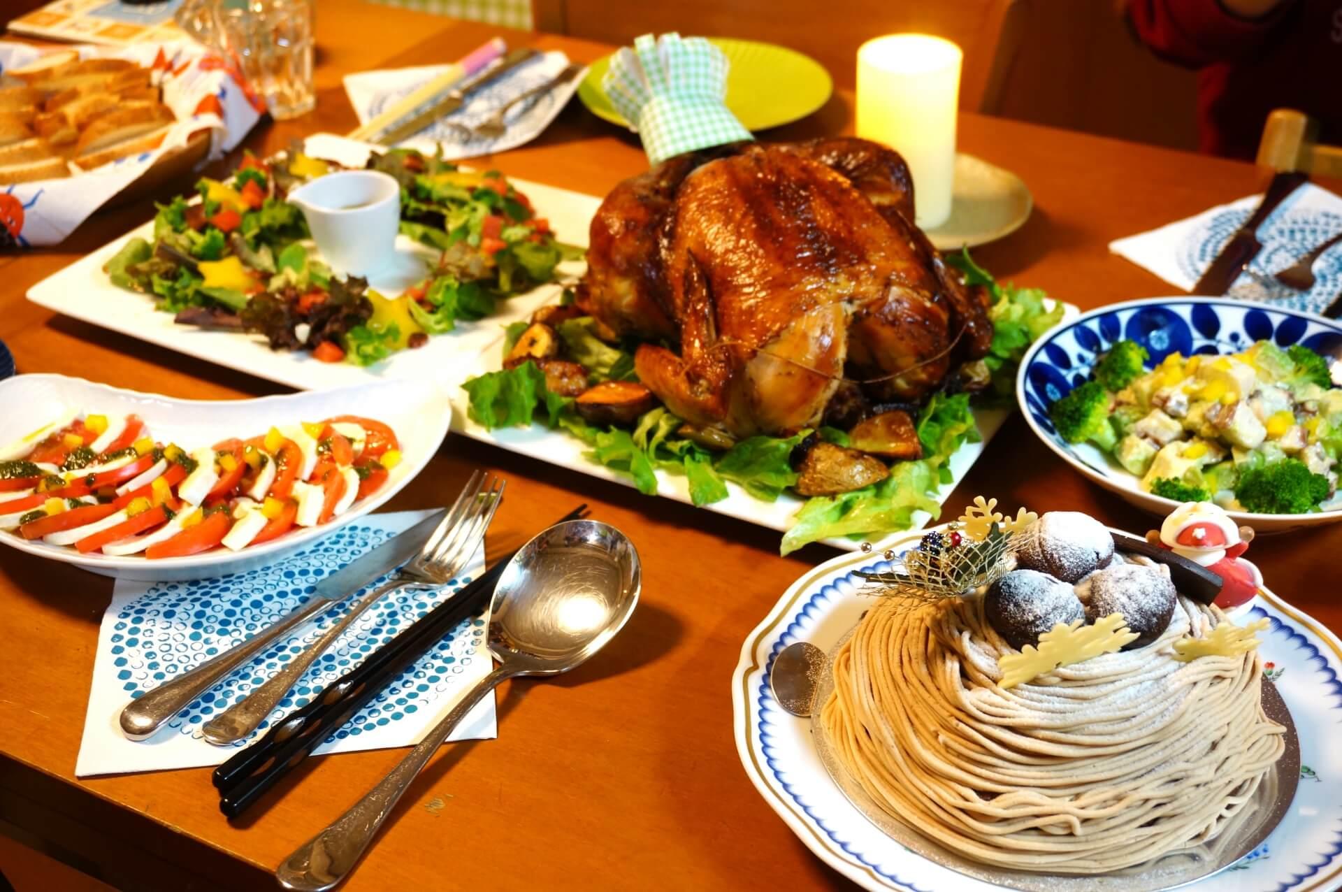 クリスマスに手軽に作れるクリスマスレシピ