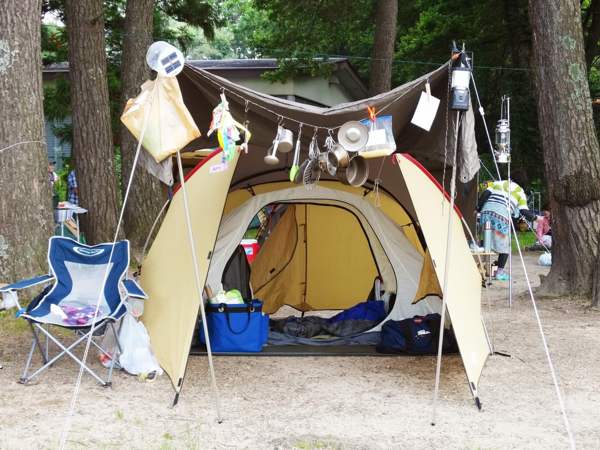 快適に過ごせるキャンプ用マット