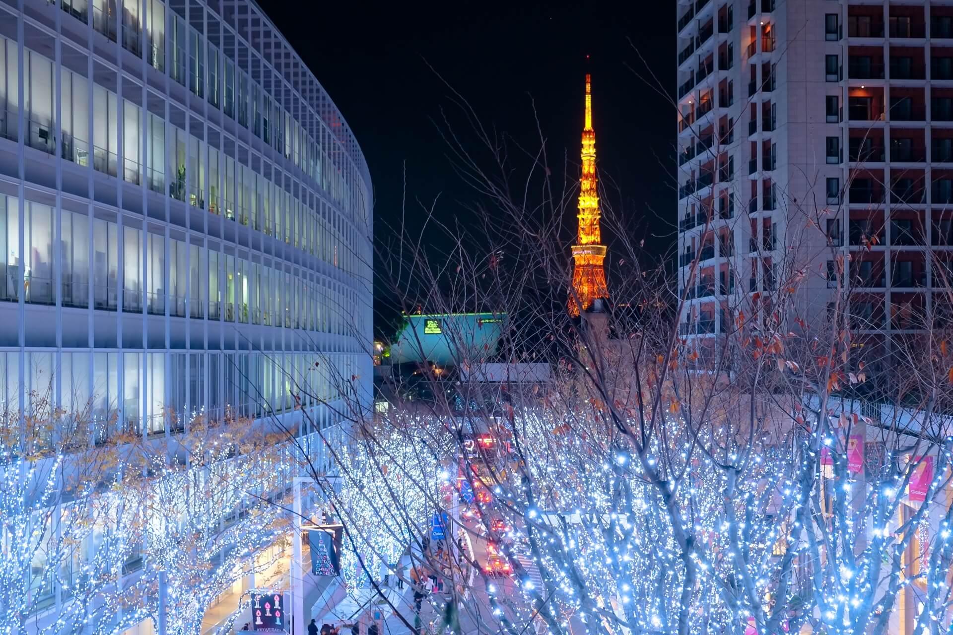 東京のイルミネーションイベントまとめ