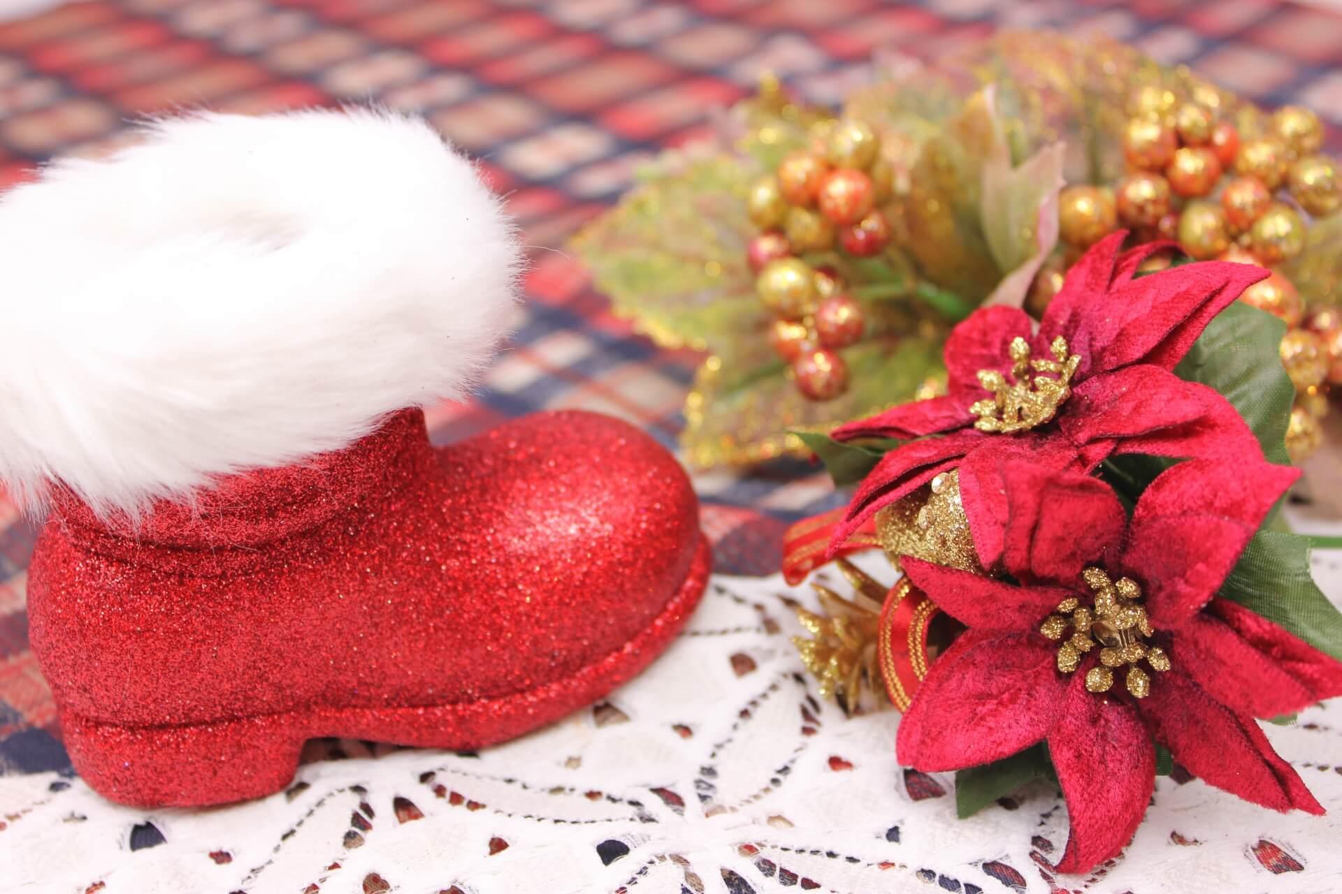 クリスマスプレゼントを入れる「ブーツ」の秘密