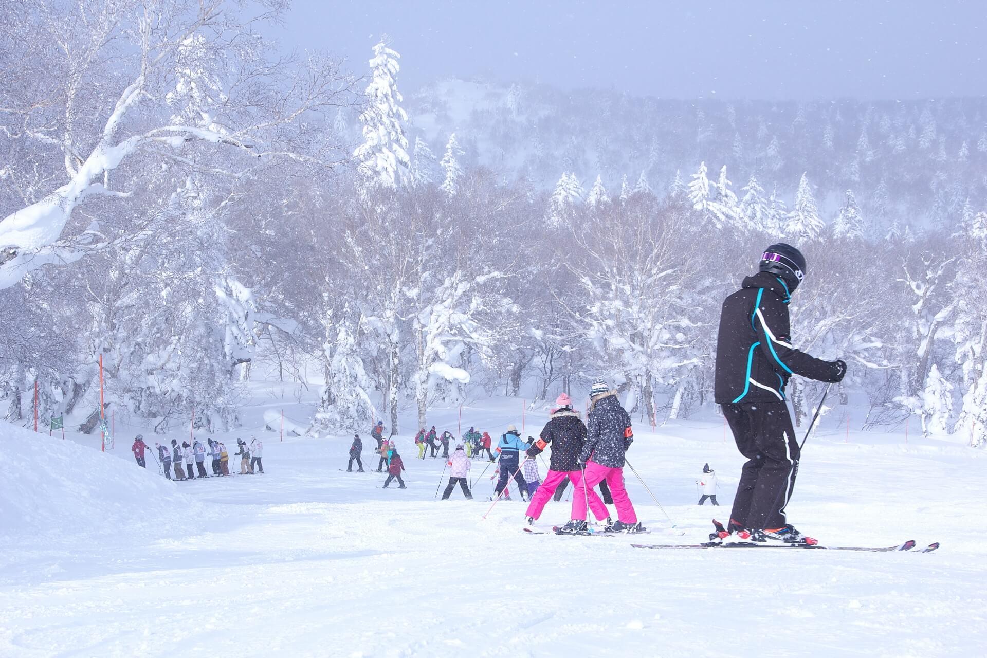 スキーはオシャレに!機能性だけでなくオシャレな服装をチョイス!