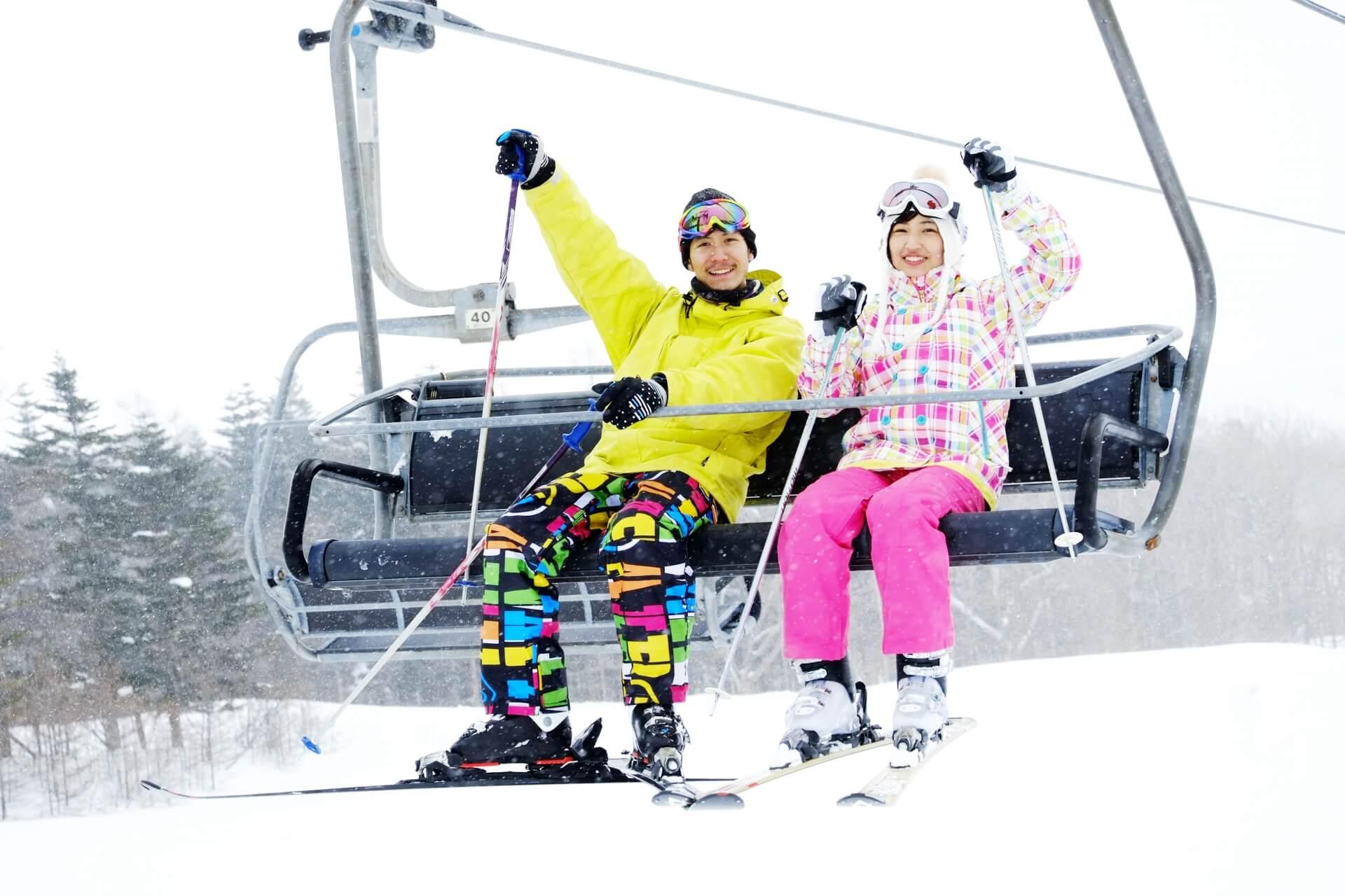 初めてスキーに挑戦!上手なブーツ選び。