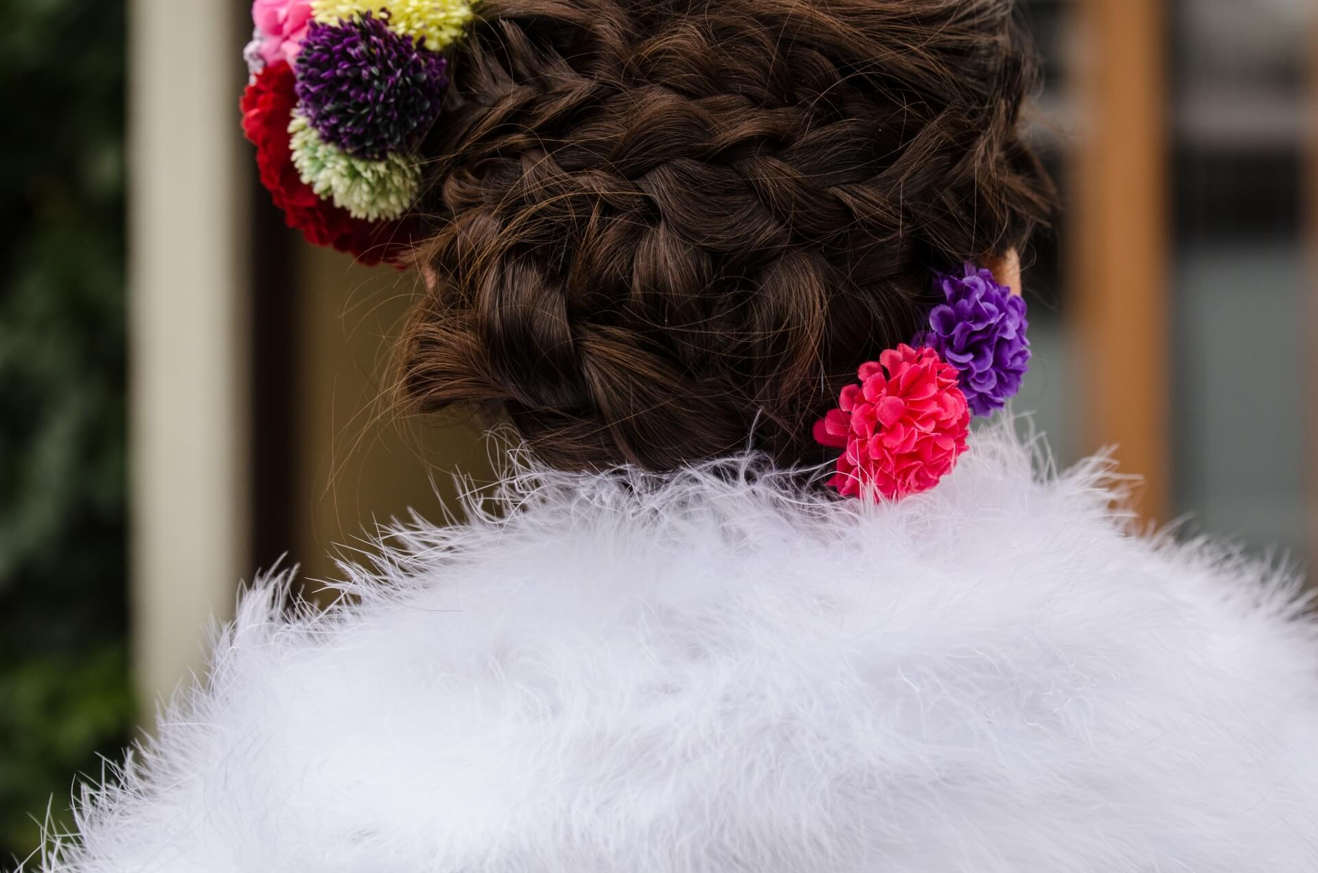 ロングヘアの人ピッタリの成人式の髪型