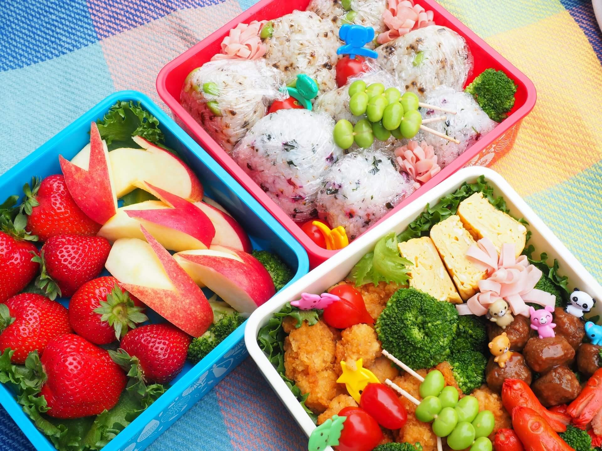 ピクニックのための、厳選おすすめお弁当レシピ