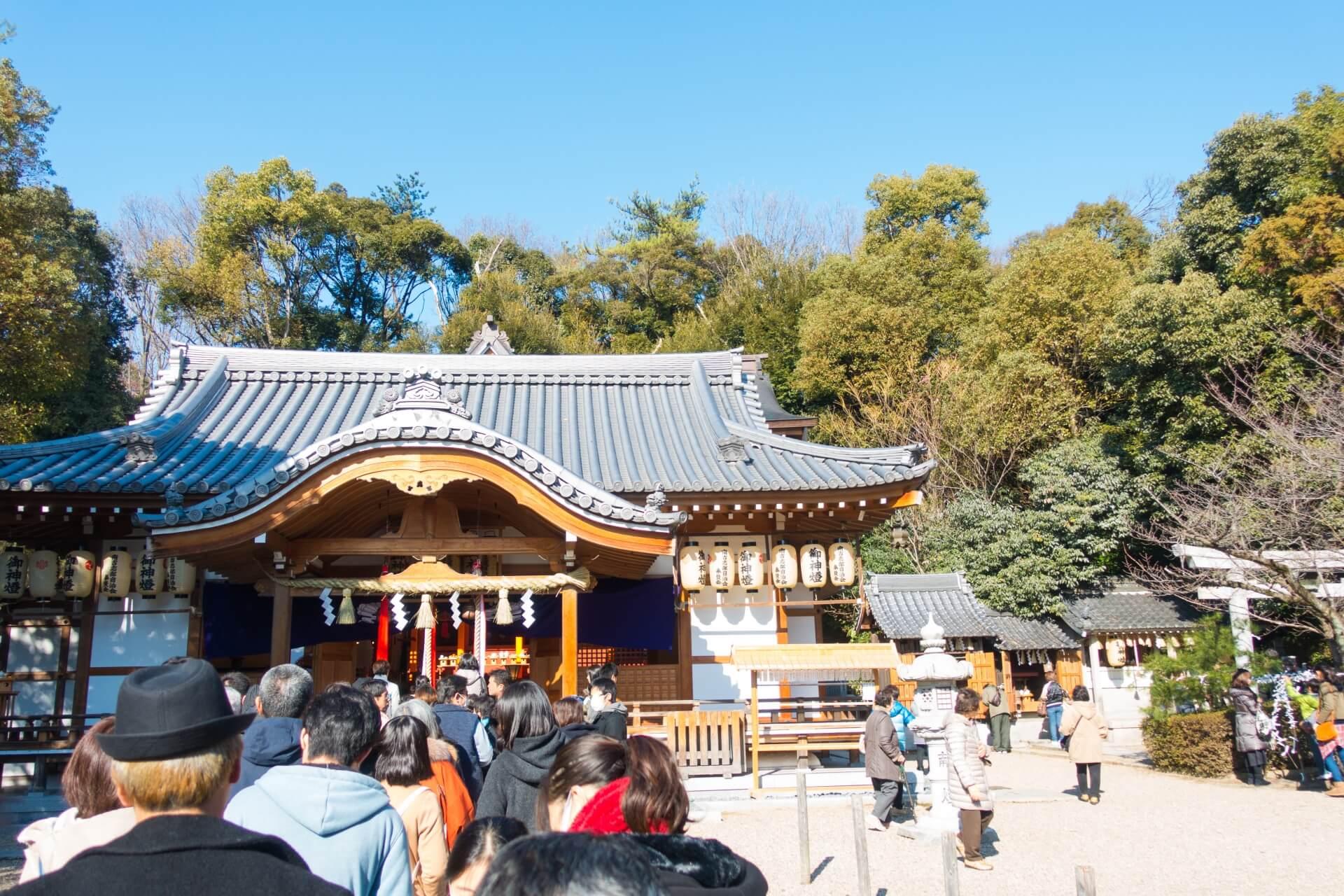 大阪で初詣に行くならここ!お勧め初詣スポット